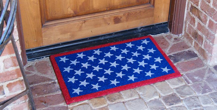 American Or Patriotic Doormats