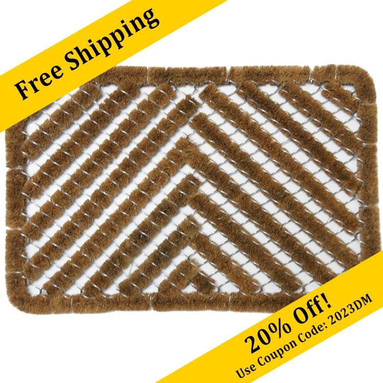 Herringbone  Coir Door Mat  sc 1 st  Rubber-Cal & Outside Door Mats | Rubber-Cal Doormats