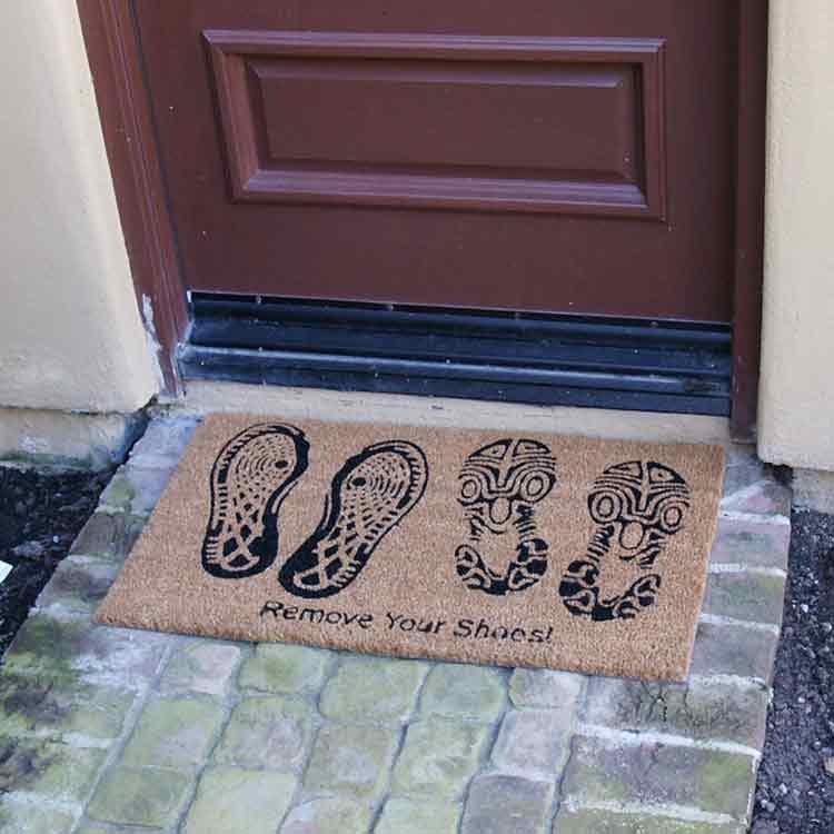 Quot Remove Your Shoes Doormat Quot
