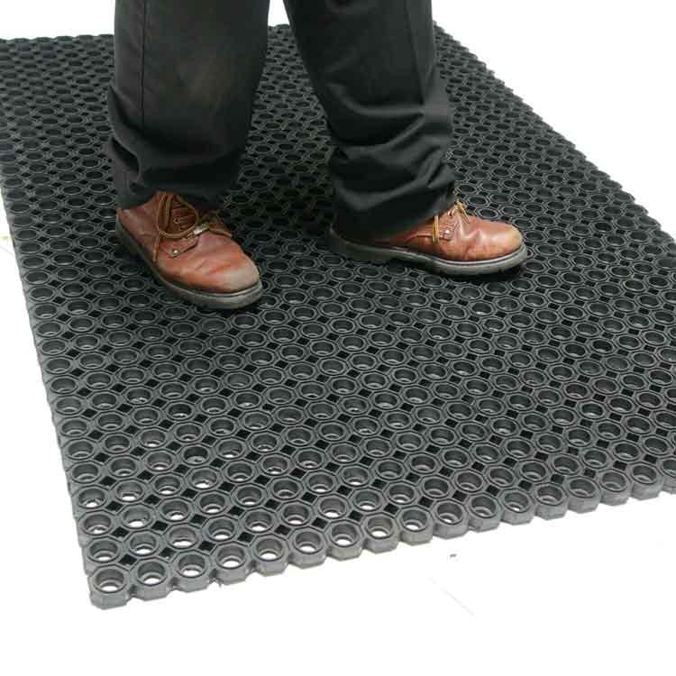 """dura-chef octagon"""" rubber kitchen mats"""