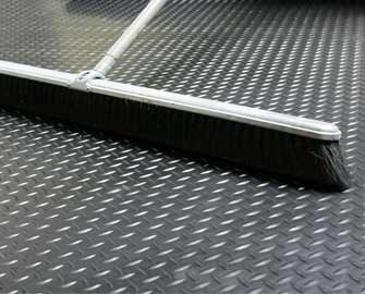 Quot Diamond Plate Quot Roll Rubber Matting