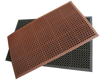 Custom Rubber Floor Mats, Tiles, and Rolls - A Fit For Any Floor