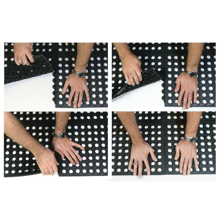 "dura-chef interlock commercial"" kitchen mats"