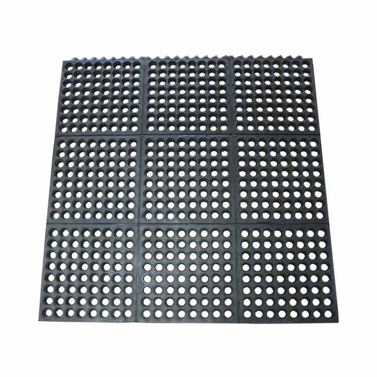 """Dura-Chef Interlock"" Rubber Kitchen Mats"