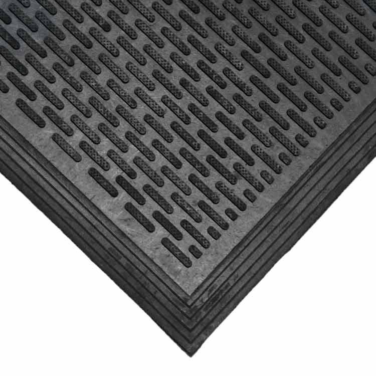 """dura scraper linear rubber doormat"
