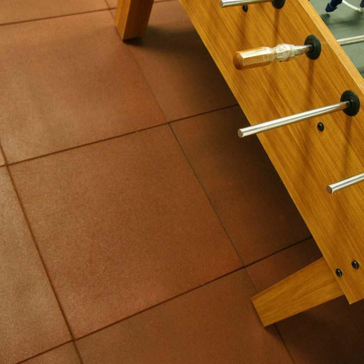 Eco Sport 34 Inch Interlocking Rubber Flooring Tiles