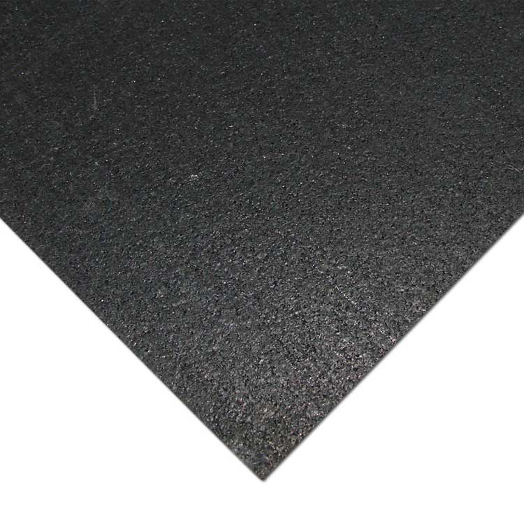 Quot Elliptical Mat Quot Recycled Rubber Mat