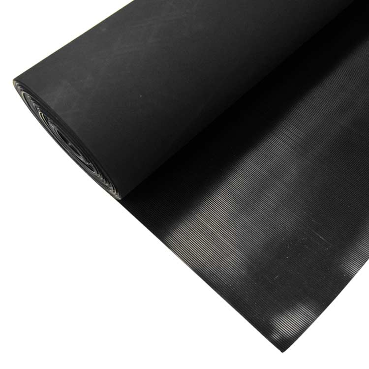Corrugated Fine Rib Rubber Runner Mats The Flooring Experts