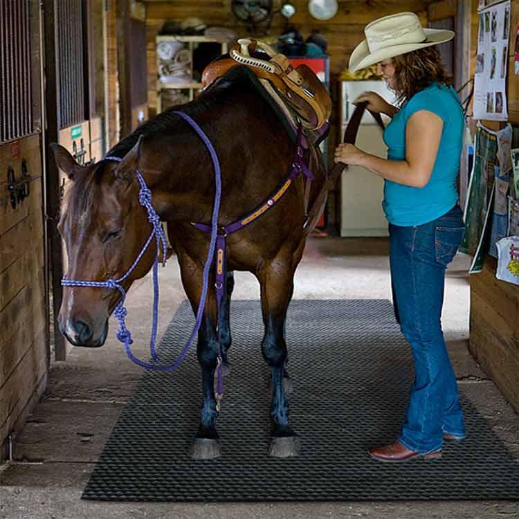 Quot Horse Stall Mat Quot Heavy Duty Rubber Mat