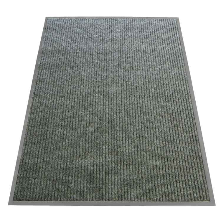 rubber mat polypropylene matting mats shop backed blue carpet burgess entrance