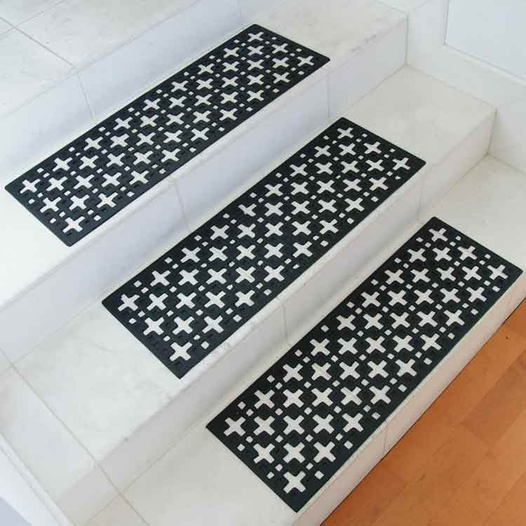 Quot Stars Quot Rubber Stair Treads