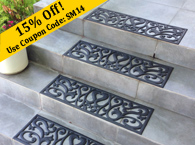 Non Slip Stair Treads Rubber Cal Rubber Mats And Flooring