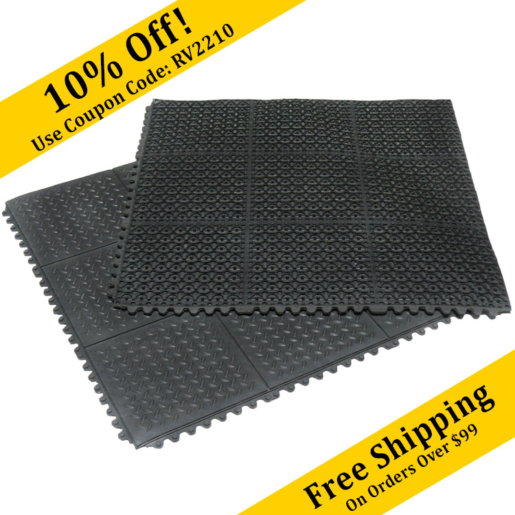 Garage Floor Covering RubberCal Rubber Flooring And Mats - Padded garage floor mats