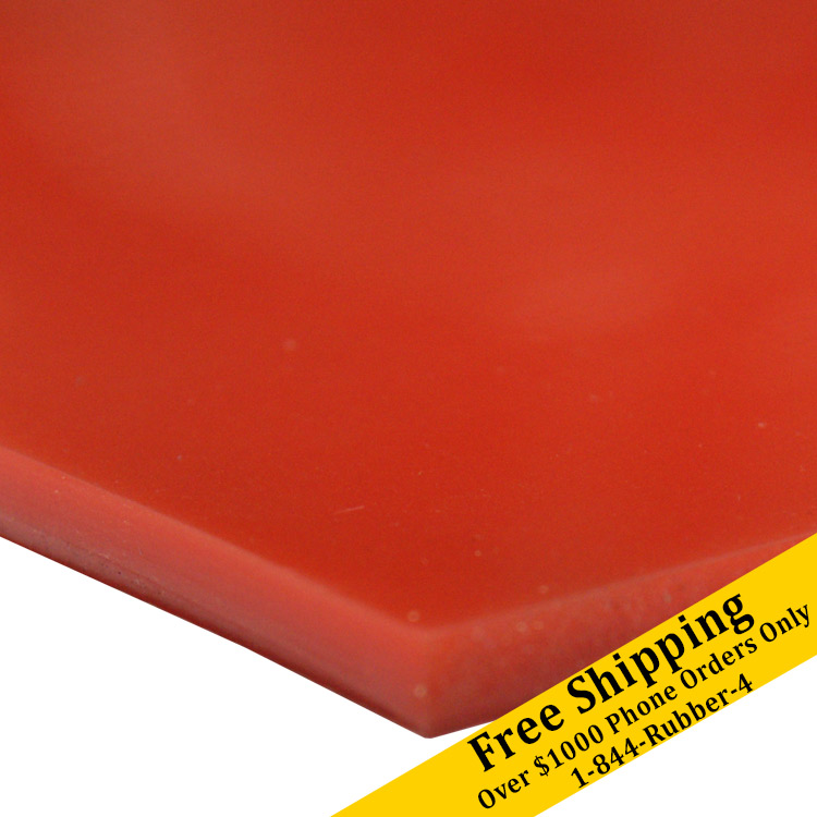 Silicone Commercial Grade Red Orange 40a