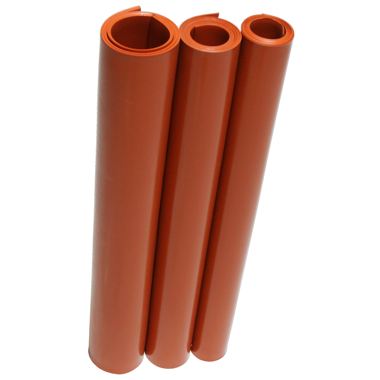 Silicone Commercial Grade Red Orange 70a