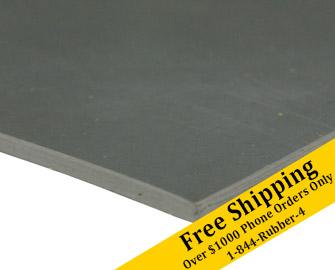 1//16 Thick x 3ft Width x 8ft Length Rubber Sheet Commercial Grade 70A Rubber-Cal Neoprene