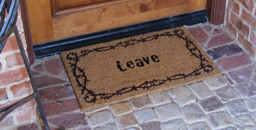 Rude Doormats